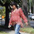 Selma Blair, très enceinte, a été aperçue dans les rues de Los Angeles, le 25 mai 2011.