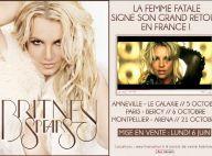 Britney Spears : Trois dates en France révélées pour son Femme Fatale Tour !