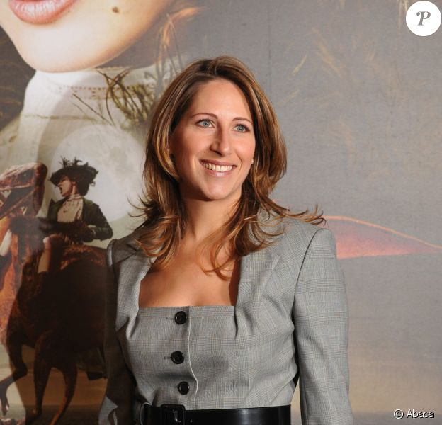 Maud Fontenoy en 2010 lors de l'avant-première des Aventures extraordinaires d'Adèle Blanc-Sec