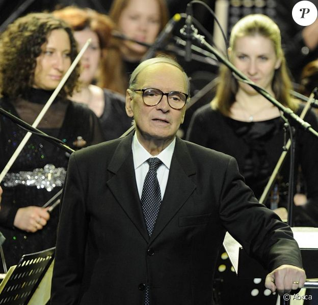 Ennio Morricone, à Moscou, en mars 2011.