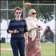 Kate Hudson et Matthew Bellamy sont allés encourager le fils de l'actrice, Ryler, lors d'un match de foot à Los Angeles. Le 2 juin 2011