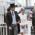 Le prince William et Kate au Derby d'Epsom, le 4 juin 2011.