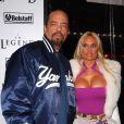Ice-T et son épouse Coco, à New York, le 11 décembre 2007.