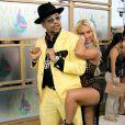 Ice-T et son épouse Coco, à Miami, le 28 août 2005.