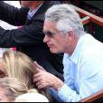 Nicole et Gilbert Coullier lors de la finale du tournoi de Roland-Garros, le 5 juin 2011.
