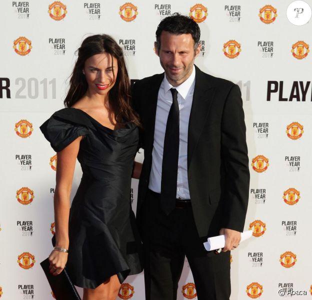 Ryan Giggs et sa femme Stacey Cooke, à Manchester, en mai 2011.