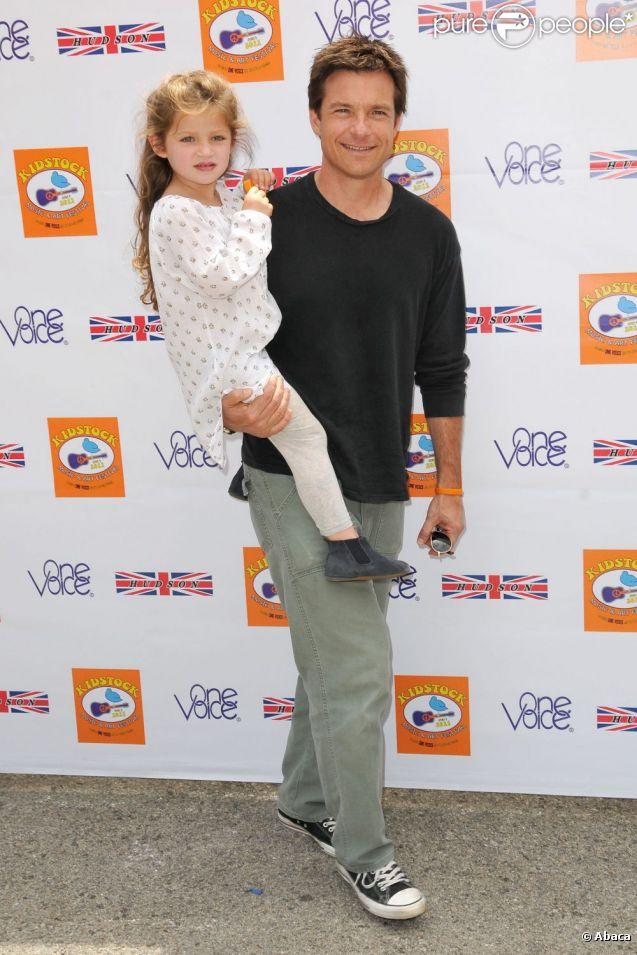 Jason Bateman et sa fille Francesca Nora lors du 5e festival annuel Kidstock Music and Arts à Beverly Hills le 5 juin 2011