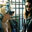Natalie Germanotta dans le clip  Telephone  de sa soeur Lady Gaga, mars 2010.