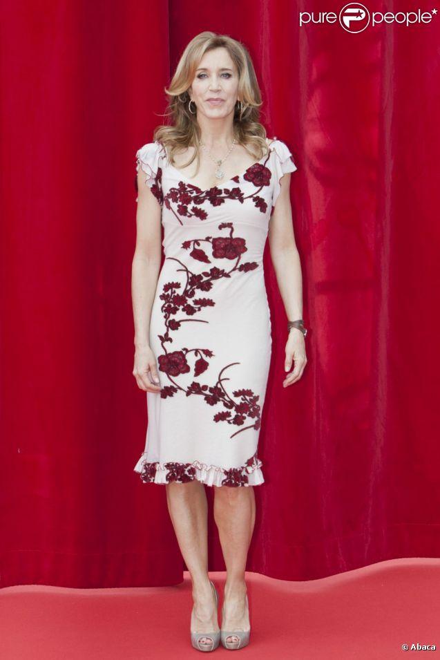 Felicity Huffman assiste au Festival international de la télévision de Monte-Carlo, mercredi 8 juin 2011, à Monaco.