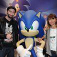 Vincent Desagnat et Axelle Laffont ont fait sensation lors des 20 ans de Sonic à Paris le 8 juin 2011