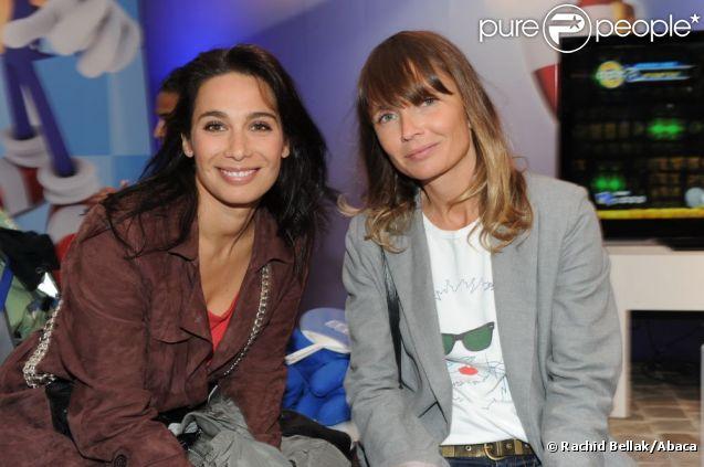 Marie Fugain et Axelle Laffont complices des 20 ans de Sonic à Paris le 8 juin 2011