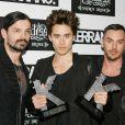 Jared Leto et son groupe  30 Seconds to Mars  aux Kerrang Awards, à Londres, le 9 juin 2011.