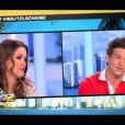 Jeny Priez questionne Mickaël Vendetta, invité sur le plateau des Anges de la télé-réalité : Miami Dreams le vendredi 10 juin 2011 sur NRJ 12