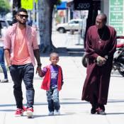 Usher : En papa poule avec son fiston trop stylé