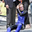 Pierre Casiraghi assistent de très près à l'Opération Poséidon, le 27 mai 2011, à Monaco. Le prince Albert est de la partie !
