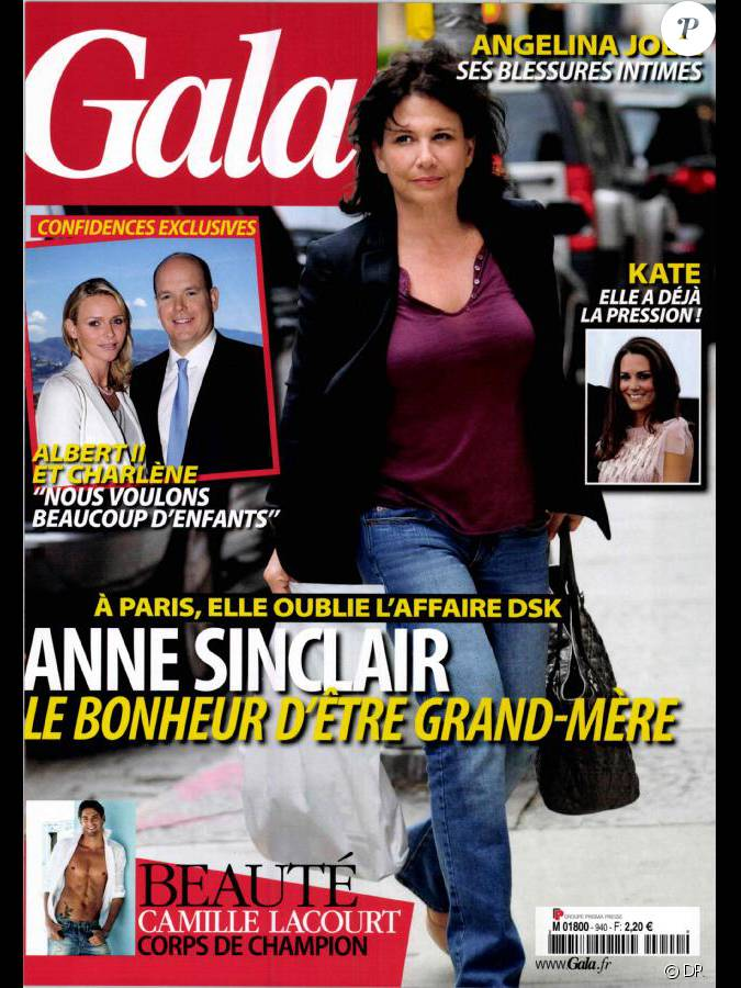 la couverture du magazine gala du 15 juin 2011. Black Bedroom Furniture Sets. Home Design Ideas