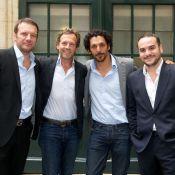Tomer Sisley, Stéphane Freiss et F-X Demaison présentent leurs papas