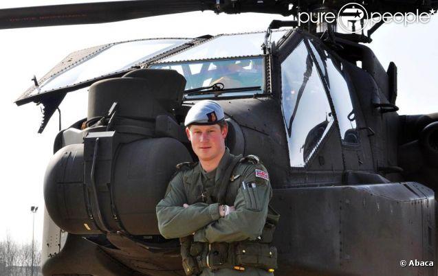 Promu en avril au grade de capitaine, le prince Harry a reçu en juin 2011 l'aval de la reine et des autorités pour repartir combattre en Afghanistan, en tant que pilote d'Apache. Il lui reste cependant près de huit mois d'entraînement aux situations de combat avant un éventuel déploiement.