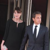 Nicolas Sarkozy et son épouse Carla Bruni touchés par ''Une séparation''