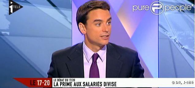 Julian Bugier, journaliste sur i-télé, sera à la rentrée sur France 2 !