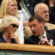 Wimbledon 2011, première semaine : la duchesse de Cornouailles et épouse du prince Charles Camilla Parker Bowles a apprécié le spectacle.