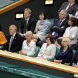 Wimbledon 2011, première semaine : Camilla Parker Bowles au premier rang
