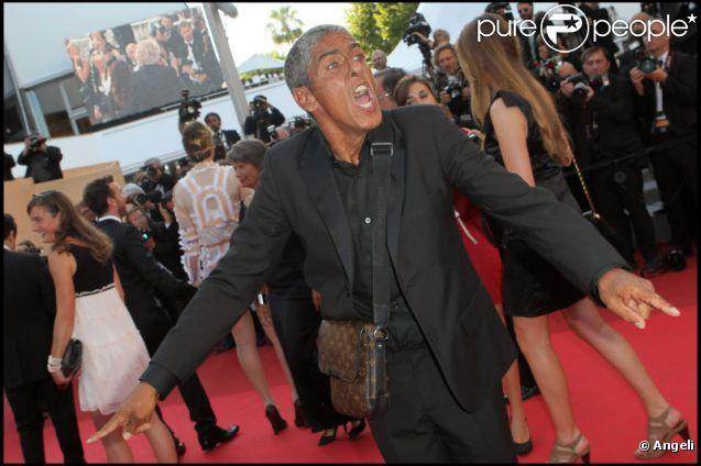 Samy Naceri à Cannes en mai 2011 à l'occasion du 64e Festival de Cannes