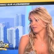 Anges de la télé-réalité 2/Virginie Caprice : Un sein dévoilé et un baiser volé
