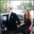 John Travolta et sa femme Kelly Preston s'offrent un dîner en tête à tête dans le restaurant gastronomique La Tour d'argent dans Paris la ville la plus romantique le 21 juin 2011