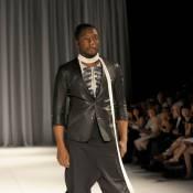 Will.i.am des Black Eyed Peas, à Paris, devient mannequin