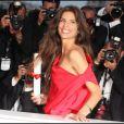 Maïwenn et son prix du jury lors du festival de Cannes 2011