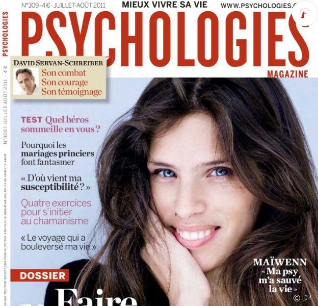 La couverture du magazine Psychologies (juillet-août 2011)