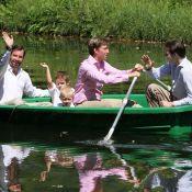 Gabriel et Noah, petits princes de Luxembourg, illuminent les photos de famille