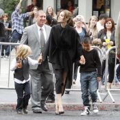 Angelina Jolie s'offre une après-midi très privée avec ses six enfants