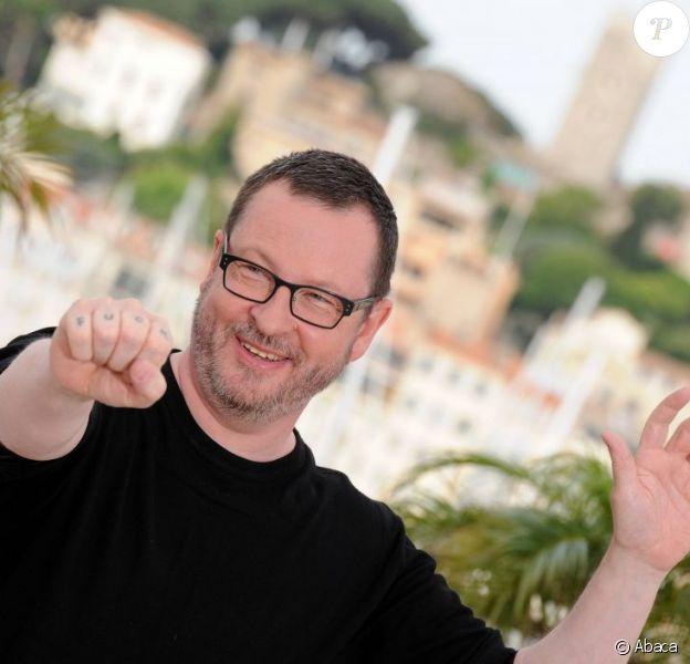 Lars von Trier lors du festival de Cannes, durant le photocall du film Melancholia - mai 2011
