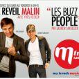 Laurent Argelier dans le Reveil Malin sur MFM, aux côtés de Yves Hecker