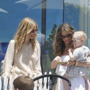 Rebecca Gayheart, enceinte, aide la maman en détresse Rachel Zoe