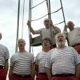 Image extraite du clip  Santiano  des Marins d'Iroise, juin 2011.
