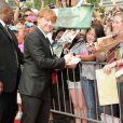 Rupert Grint à l'avant-première new-yorkaise de  Harry Potter et les reliques de la mort - partie 2 , le 11 juillet 2011.