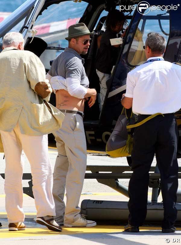 Brad Pitt a de nouveaux tatouages !
