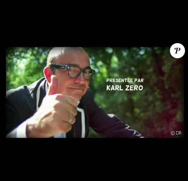 Karl Zéro, guest star de cette websérie Roue Libre à Vittel