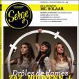 L est en couverture du numéro 6 de  Serge , août-septembre 2011