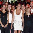 Stéphanie de Monaco préside le gala organisé par l'assocation Fight Aids Monaco, le 13 juillet 2011.