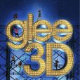 L'affiche du film en 3D mettant en scène les acteurs de la série  Glee , attendu pour le 28 septembre 2011 sur les écrans français.