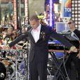 Chris Brown en concert à New York, pour l'émission Today Show, le 15 juillet 2011