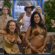 Ayem, torride, lorsqu'elle danse durant la soirée jungle dans Secret Story 5