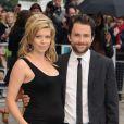 Charlie Day et sa femme Mary Elizabeth Ellis lors de l'avant-première à Londres de Comment tuer son boss ? le 20 juillet 2011