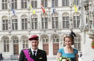 La princesse Mathilde, joli coin de ciel bleu d'une Fête nationale bien sinistre