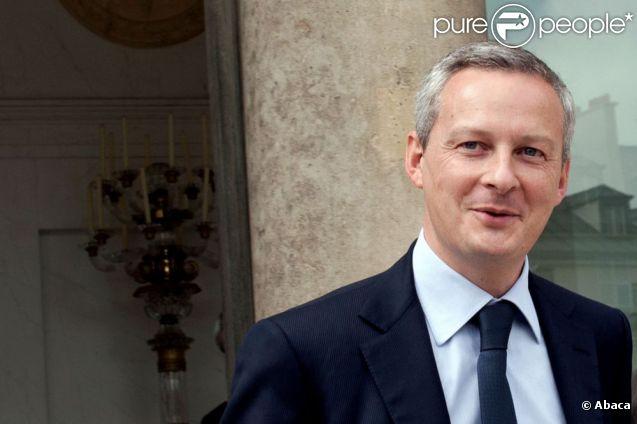 Le ministre de l'agriculture Bruno Le Maire à Paris en juin 2011