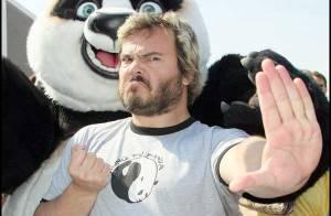 PHOTOS : Jack Black version panda à Cannes !